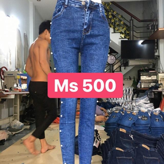 Quần jean nữ size đại