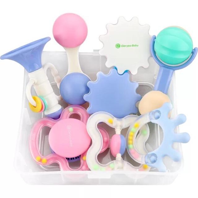 (Goryeo Baby)Set đồ chơi an toàn cho bé made in Korea