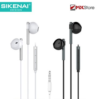 [Mã ELFLASH5 giảm 20K đơn 50K] Tai nghe nhét tai Sikenai Jack 3.5 W518 High Fidelity Stereo Heaphones