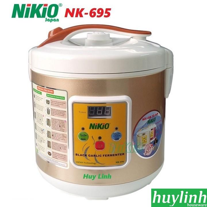 Máy làm tỏi đen Nhật Bản Nikio NK-695 - Màu Vàng Gold - Mẫu mới 2018