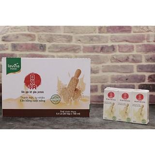 Sữa Gạo Lứt Lavina Food 180ml HSD: 19/09/2021 TẶNG 3 HỘP NƯỚC MÍA