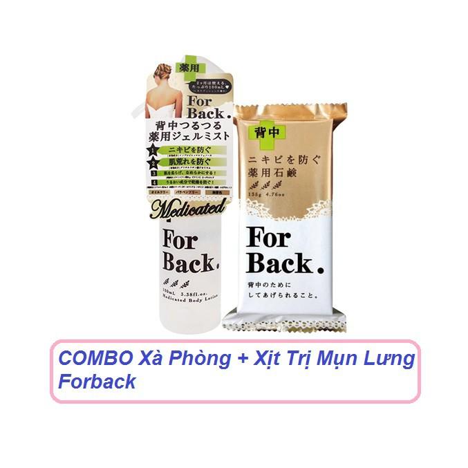 COMBO Xà Phòng + Xịt Mụn Lưng Forback