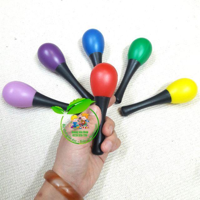 (1 đôi) Maracas - Lục lạc cầm tay - Góc âm nhạc, dụng cụ thanh nhạc