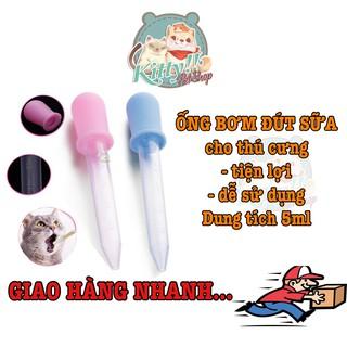 Ống đút bón sữa cho chó, mèo, thỏ, bọ, hamster, thumbnail