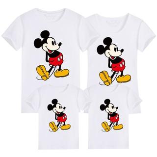 Áo thun gia đình in hình chuột Mickey