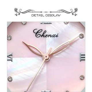 [CHÍNH HÃNG] Đồng hồ nữ CHENXI CX091M dây Titanium nhuyễn mặt khảm trai sang trọng nữ tính đầy quyến rũ