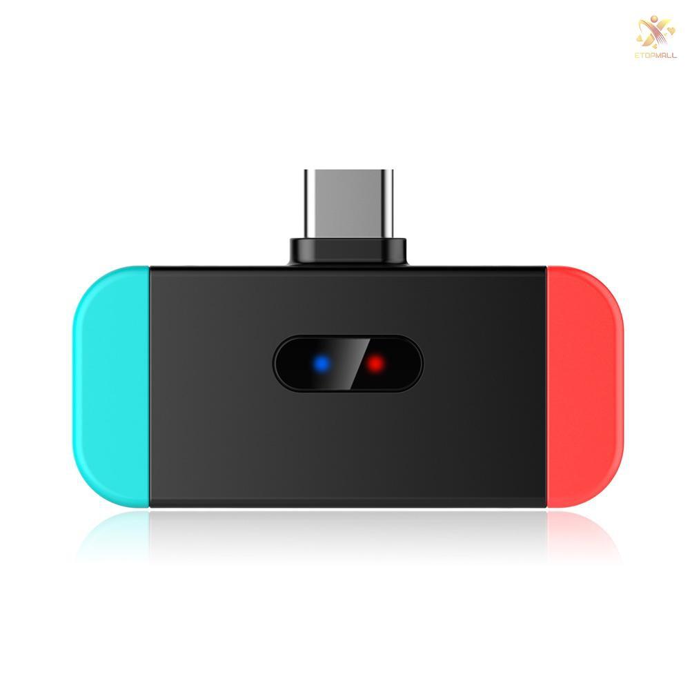 Bộ Chuyển Đổi Âm Thanh Bluetooth Usb-C Bt Cho Nintendo Switch Ps4 Pc