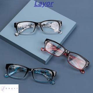 💜LAYOR💜 +1.0~+4.0 Presbyopia Eyeglasses For Women&Men Eyewear Reading Glasses TR90 Ultralight Resin HD Clear Lens Gradient/Multicolor