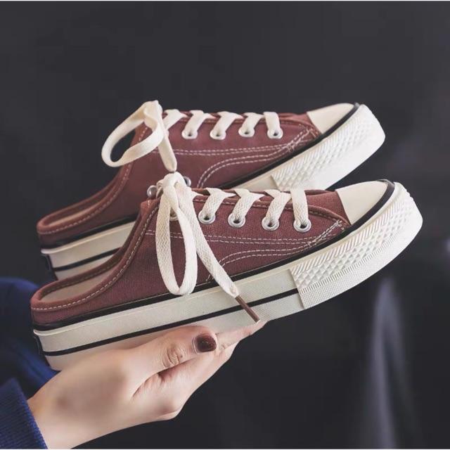 [ORDER] Giày sục thể thao  MÀU ĐỘC (Kèm ảnh thật)