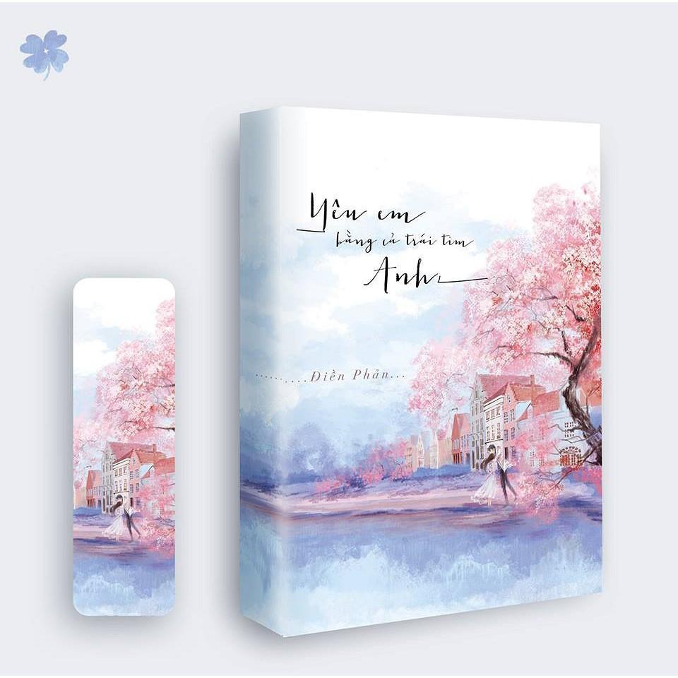 Sách - Yêu em bằng cả trái tim anh - Điền Phản Tái bản