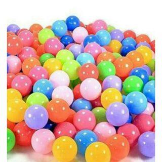 1 túi bóng 100 quả nhiều màu sắc