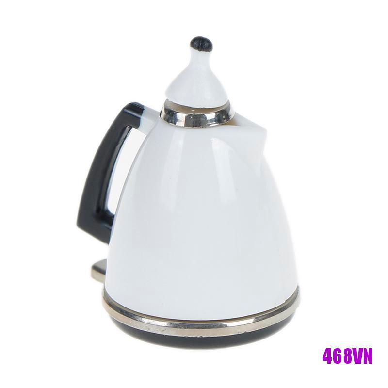[DOU]Mini dollhouse kettle pot miniature kitchen kettle toy pot dolls decorations