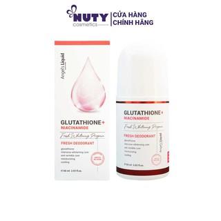 [PHIÊN BẢN NÂNG CẤP] Lăn Khử Mùi Angel s Liquid Glutathione Freshup Whitening Magic Deo Stick (60ML) thumbnail