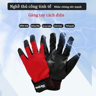 Găng tay cách nhiệt và chống sốc dày