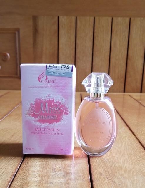 Nước hoa nữ Charme Miss 50ml
