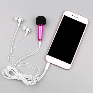 Tai nghe có micrô có dây micro Micrô nhỏ có tai nghe mini Dành cho TikTok
