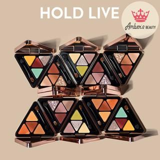 Bảng phấn mắt Hold Live tam giác 4 ô mẫu mới hè 2019 dành cho các cô nàng sành điệu L1719