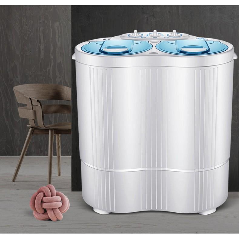 [ELHAT800 giảm tối đa 800K] Máy giặt mini 2 lồng giặt sấy có tia UV diệt khuẩn XPB45