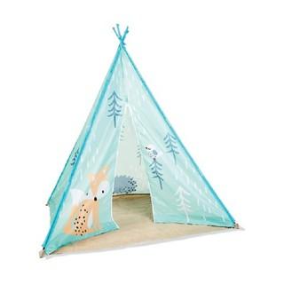Lều Teepee Vải Cho Trẻ Em có khóa kéo