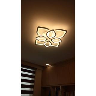 ĐÈN LED hiện đại 3 màu ( EMHD 002-8 .8 cánh )