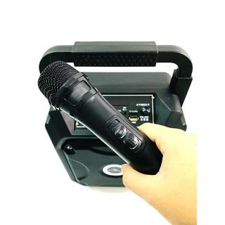 [Mã ELMSBC giảm 8% đơn 300K] Loa hát karaoke k68 với công suất lớn, âm thanh hay.kèm mic không dây.