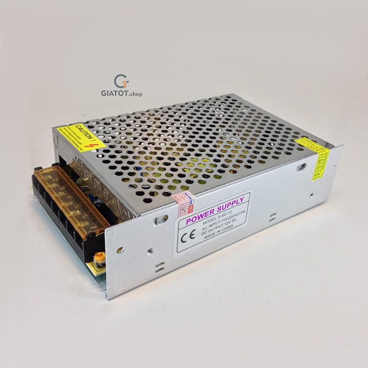 Nguồn tổng 12V-05A dùng cho camera và thiết bị điện - 3334356 , 1213966623 , 322_1213966623 , 120000 , Nguon-tong-12V-05A-dung-cho-camera-va-thiet-bi-dien-322_1213966623 , shopee.vn , Nguồn tổng 12V-05A dùng cho camera và thiết bị điện