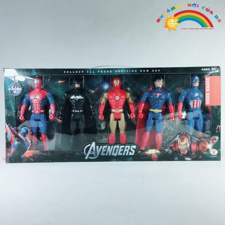 Mua Đồ Chơi Bộ 5 siêu anh hùng Advenger KC1284 [THÔNG MINH - SÁNG TẠO]