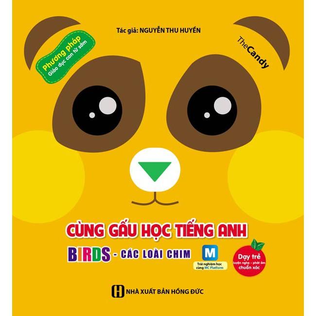 Cùng gấu học tiếng Anh - Birds - Các loài chim