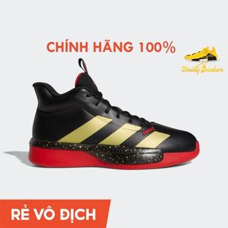 Giày Sneaer Bóng Rổ Nam Adidas Pro Next 2019 Eg2799 Black Red Gold - Hàng Chính Hãng - Bounty Sneakers thumbnail