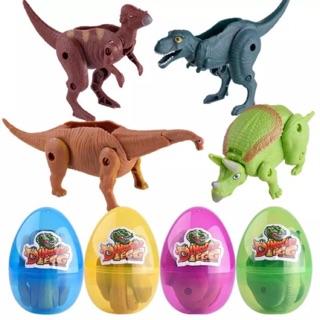 Trứng xe & khủng long lắp ráp