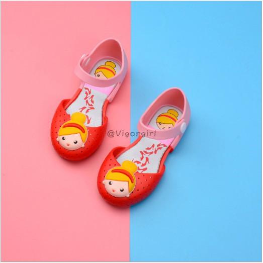 VG [VG] Giày nữ mùa hè Phim hoạt hình mềm mại dành cho trẻ em
