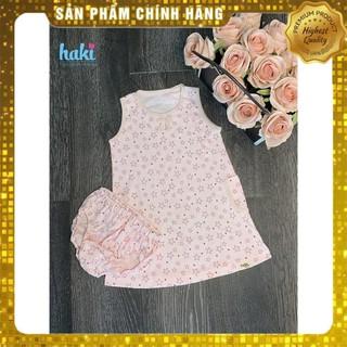 [Hàng VNXK] Bộ váy hoa tặng kèm quần chíp cho bé gái TAHA76 (ảnh thật 100%)