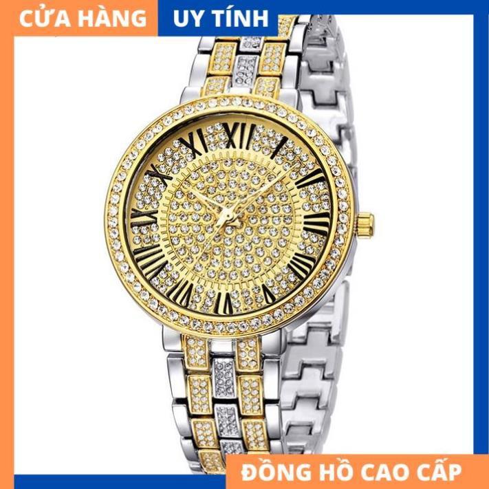 Đồng hồ nữ LUXURY DAISY Đính Pha lê - Đẳng Cấp Quý Cô [HÀNG XỊN]