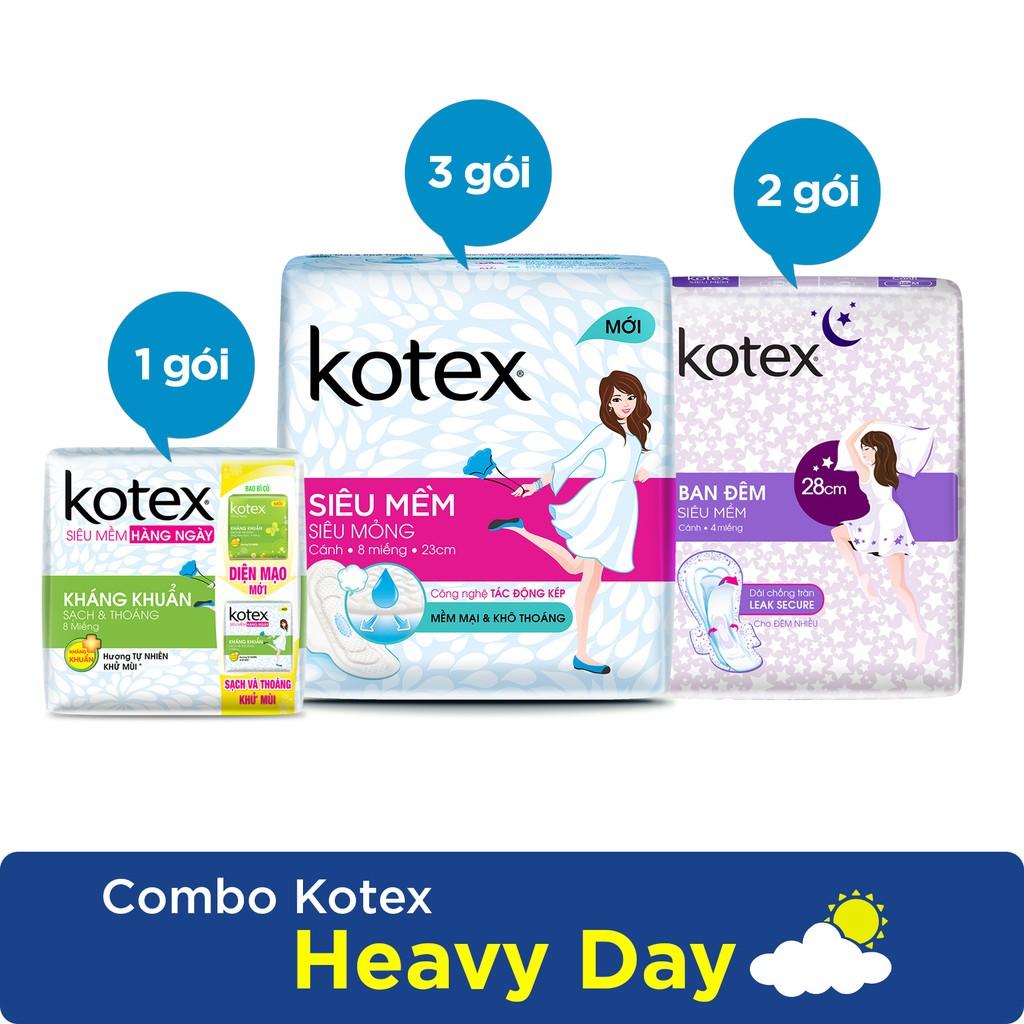 Combo 3 gói Kotex Heavy Day - 3508378 , 698956304 , 322_698956304 , 97500 , Combo-3-goi-Kotex-Heavy-Day-322_698956304 , shopee.vn , Combo 3 gói Kotex Heavy Day