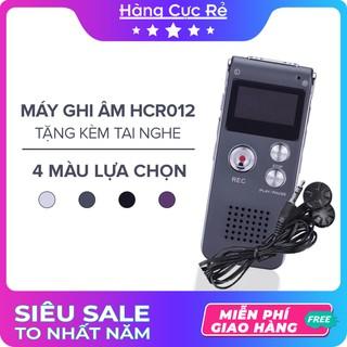 Máy ghi âm siêu nhỏ mini HCR012 Freeship Máy ghi âm giọng nói nghe nhạc MP3 MP4-Tặng kèm tai nghe-Shop Hàng Cực Rẻ thumbnail