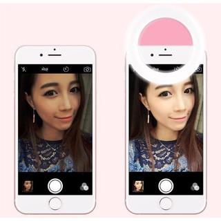 💝💝 HOT 💝💝- Đèn LED kẹp điện thoại hỗ trợ chụp hình Selfie 💝💝