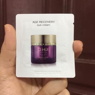 Gói kem dưỡng mắt Ohui tím giảm nhăn thâm và bọng mắt hiệu quả - Ohui Age Recovery Eye Cream 1ml thumbnail