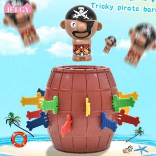 IELGY Creative Tricky Pirate Barrel Parent-child Party Game