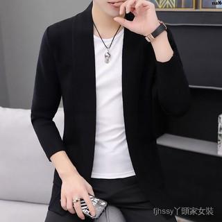 Áo Khoác Len Cardigan Thời Trang Trẻ Trung Nam Tính Kiểu Hàn Quốc