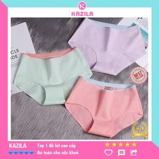 Quần lót nữ cotton cao cấp cạp ép, quần lót không viền may ôm hông nâng mông kazila QLH28 thumbnail