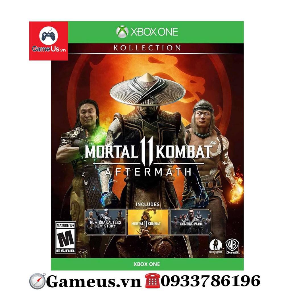 Đĩa game Xbox One Mortal Kombat 11: Aftermath Kollection Hê US
