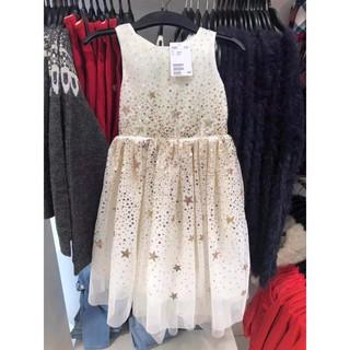 Váy HM trắng đính kim sa