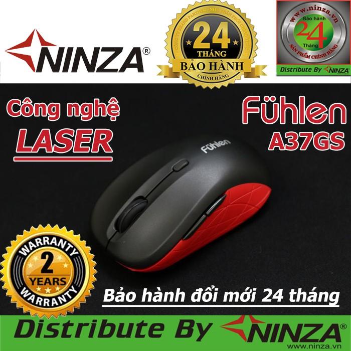 Chuột Laser không dây chính hãng Fuhlen A37GS + Pin Alkaline   Chuột lazer không dây   Ninza bảo hàn
