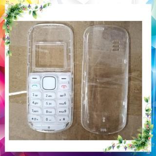 Sườn Và Vỏ Phím Trong Suốt Nokia 1280 Kèm Phím Hàng Mới sx