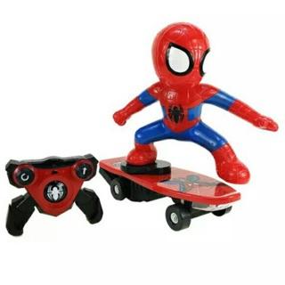 Đồ chơi người nhện ván trượt có điều khiển từ xa