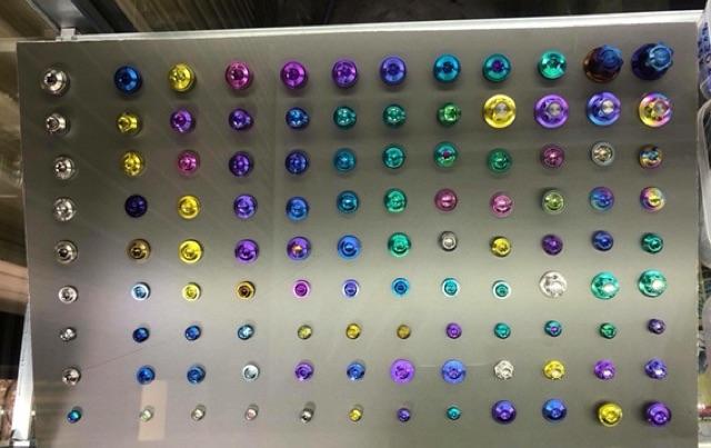 Ốc titan gr5 8 x 25 bắt đĩa thắng các loại xe