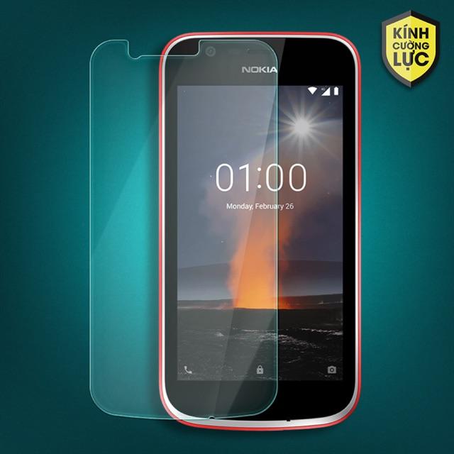 Nokia 1 kính cường lực kèm phụ kiện dán tại nhà