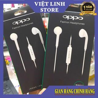 Tai Nghe Oppo mẫu R9 full box, thon gọn, giá cả phải chăng HÀNG CỰC BỀN - Việt Linh Store