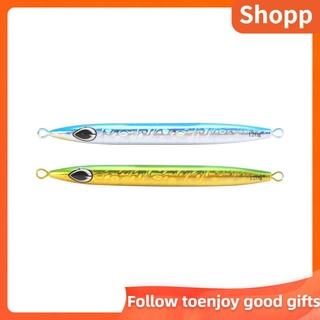 SHOPP Fast Sinking Iron Plate Fishing Lures Hard Bait 3D Eyes Bass Crankbait Tackle Wobbler