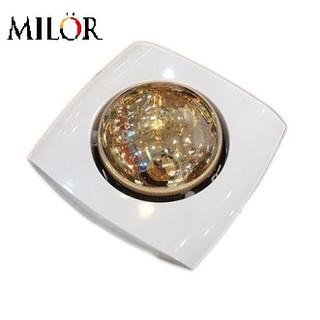 Đèn sưởi âm trần 1 bóng (mặt vuông) Milor ML-6008 - Hàng chính hãng